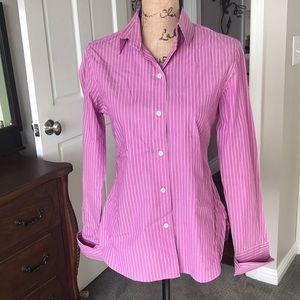 French cuff blouse